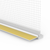PVC ANPUTZLEITE FÜR WDVS, Putzdicke: 10 mm, 260 cm