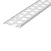 SOCKELPROFIL INNEN- UND AUSSENPUTZ ALU 12 MM, Putzdicke: 12 mm, 300 cm