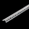 SCHNELLPUTZLEISTE EDELSTAHL, Putzdicke: 8 mm, 260 cm