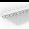 WDVS-SOCKELKANTENPROFIL PVC MIT TROPFKANTE, 200 cm