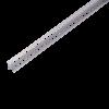 SCHNELLPUTZLEISTE V8 EDELSTAHL, Putzdicke: 8 mm, 260 cm