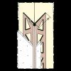 PVC-KANTENPROFIL, 260 cm