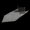 GIMA ARMIERUNGSECKE, MW 7 x 7 mm, 33 x 50 cm, 11 cm Laibung