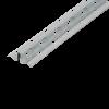 GIMA SCHNELLPUTZLEISTE AUS VERZINKTEM STAHLBLECH, Putzdicke 8 mm, 250 cm