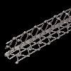 DRAHTRICHTWINKEL, Schenkel: 60 x 60 mm, 303 cm