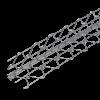 DRAHTRICHTWINKEL, Schenkel: 60 x 60 mm, 280 cm