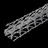 GIMA DRAHTRICHTWINKEL MIT RUNDEN KANTEN, Schenkel: 57 x 57 mm, 295 cm