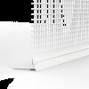 GIMA ROLLLADEN-ABSCHLUSSPROFIL MIT GEWEBE UND SCHAUMSTOFFKLEBEBAND AN DER UNTERSEITE, 250 cm