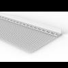 STURZ- UND SPACHTELPROFIL MIT GEWEBEFAHNE, 250 cm
