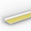 PVC LAIBUNGSANSCHLUSSPROFIL, Putzdicke: 6 mm, 260 cm
