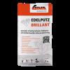 GIMA EDELPUTZ BRILLANT, 1,5 mm Korn, 25 kg, weiß