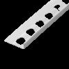 PUTZABSCHLUSSPROFIL INNEN- UND AUSSENPUTZ ALU 9 MM, Putzdicke: 9 mm, 250 cm