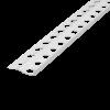 PUTZABSCHLUSSPROFIL INNENPUTZ ALU WEISS 6 MM, Putzdicke: 6 mm, 250 cm